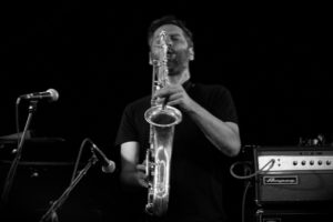 Damien Fleau au Magic Mirrors du festival Jazz sous les Pommiers